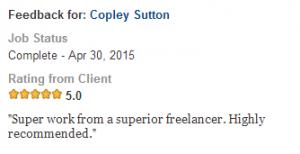 Client - Justine - Apr 2015